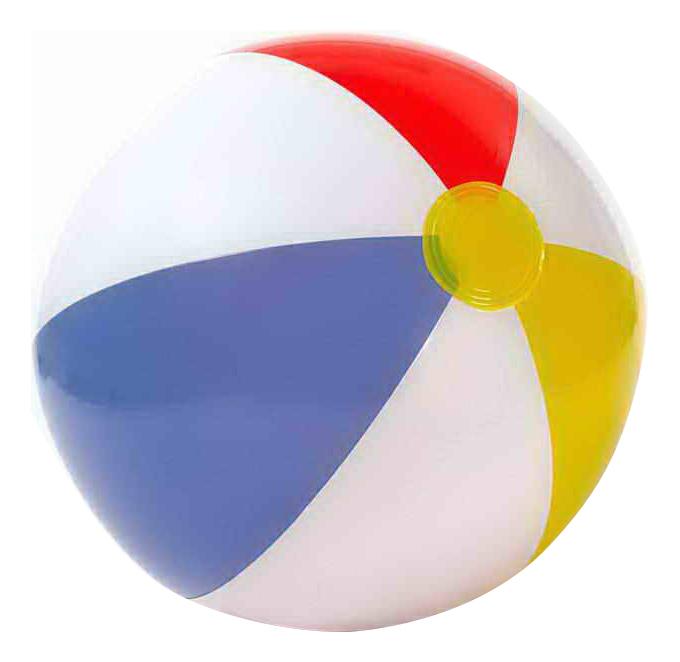 Мячик надувной INTEX Glossy Panel Ball