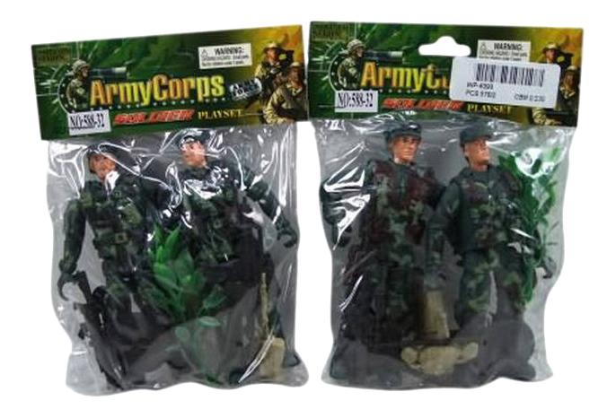 Игровой набор Shantou Gepai Набор солдатиков Army Corps