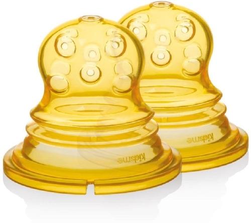 Купить Насадка для ниблера KIDSME с круглыми отверстиями, 4 мес., 2 шт (160364),