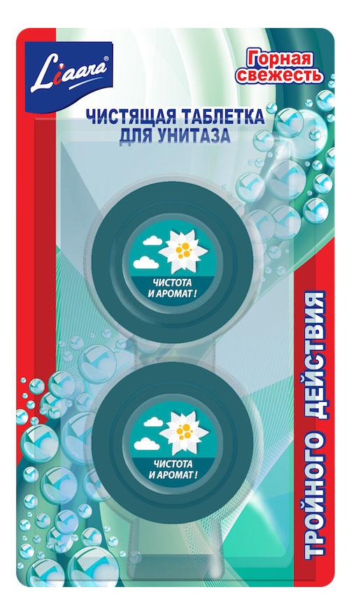 Чистящая таблетка для унитаза Liaara горная свежесть