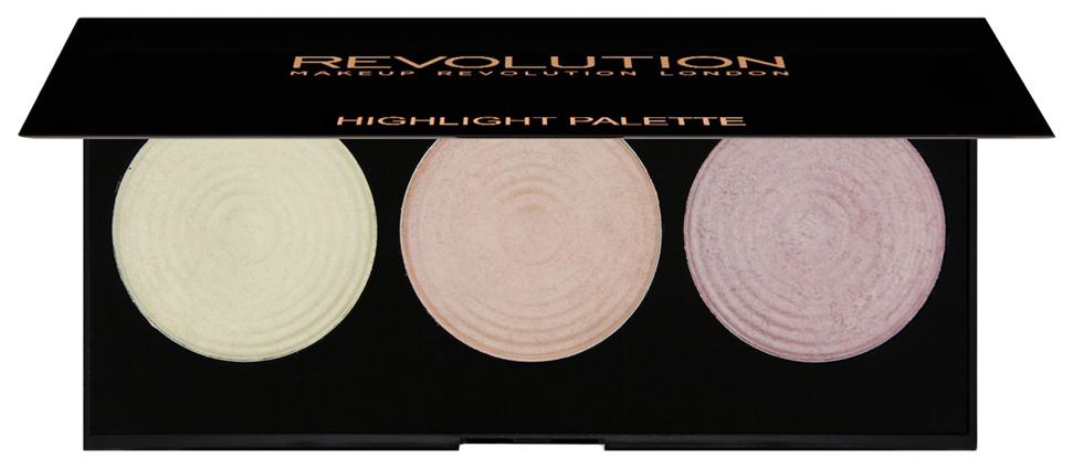 Купить Хайлайтер для лица Makeup Revolution Highlighter Palette Highlight
