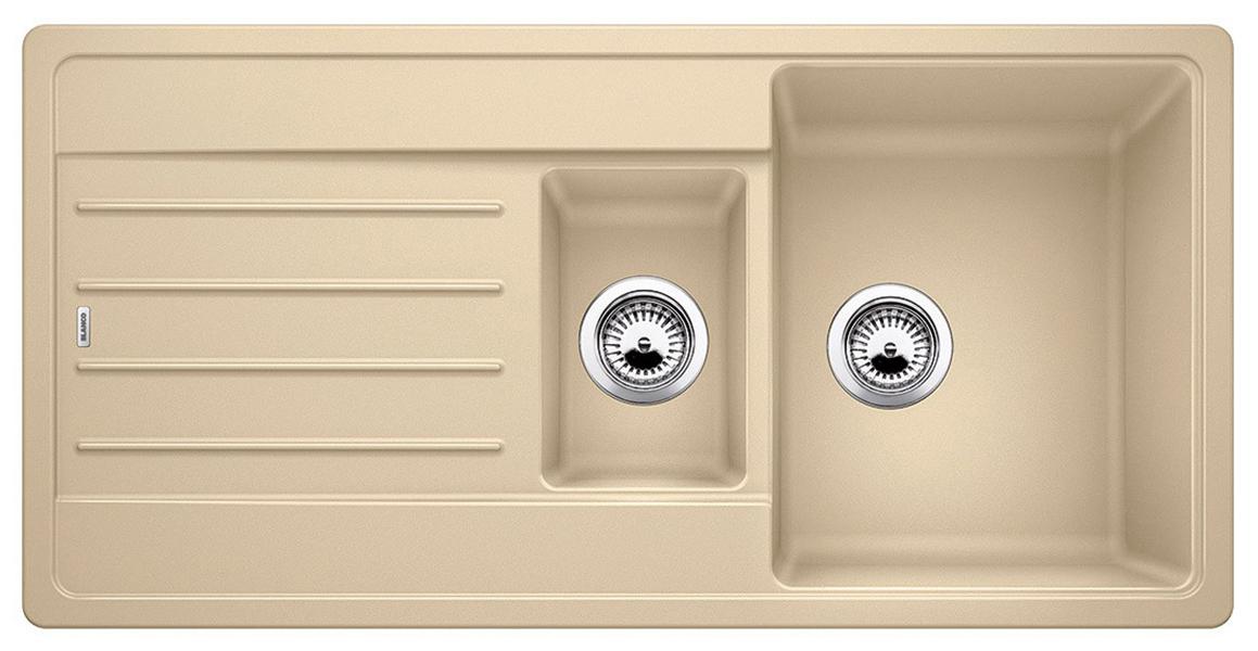 Мойка для кухни гранитная Blanco LEGRA 6S 522211 шампань
