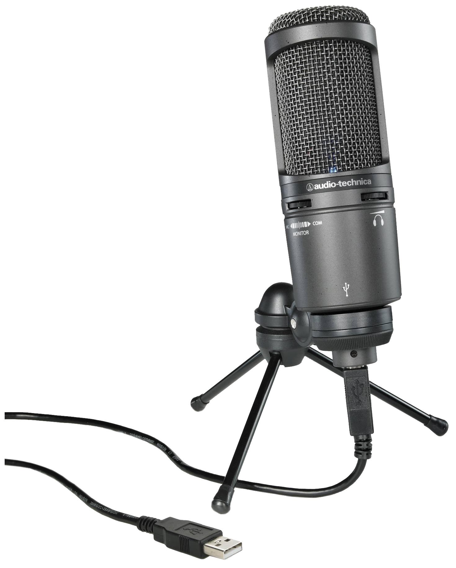 Микрофон Audio-Technica AT2020USB+ Черный