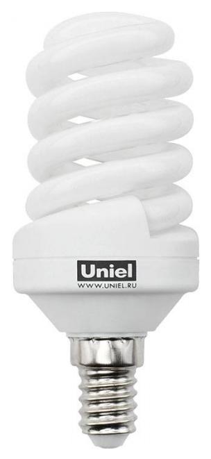 Лампа энергосберегающая (0554) E14 15W 2700K спираль