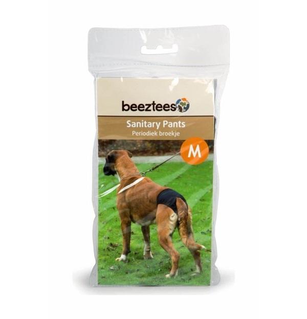 Трусы для собак Beeztees размер M черные.