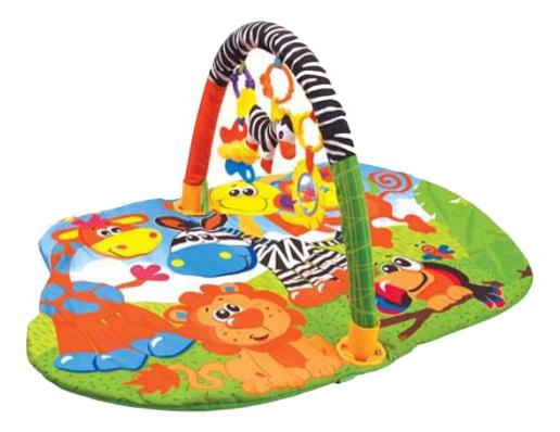 Купить Развивающий коврик YAKO Toys В джунглях, Развивающие коврики и центры