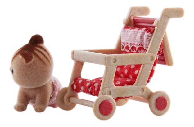 Игровой набор Sylvanian Families Прогулочная коляска фото