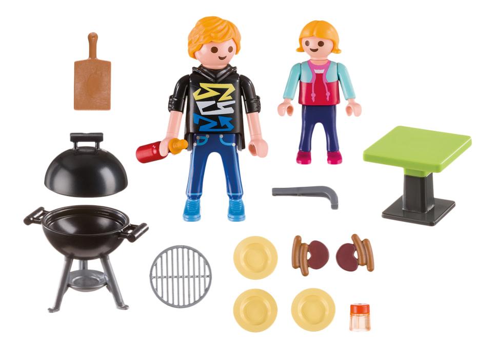 Купить Возьми с собой. Отдых с Барбекю, Игровой набор Playmobil PLAYMOBIL Возьми с собой. Отдых с Барбекю, Игровые наборы
