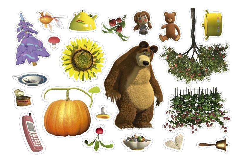 Развивающая игрушка Десятое Королевство Маша и медведь