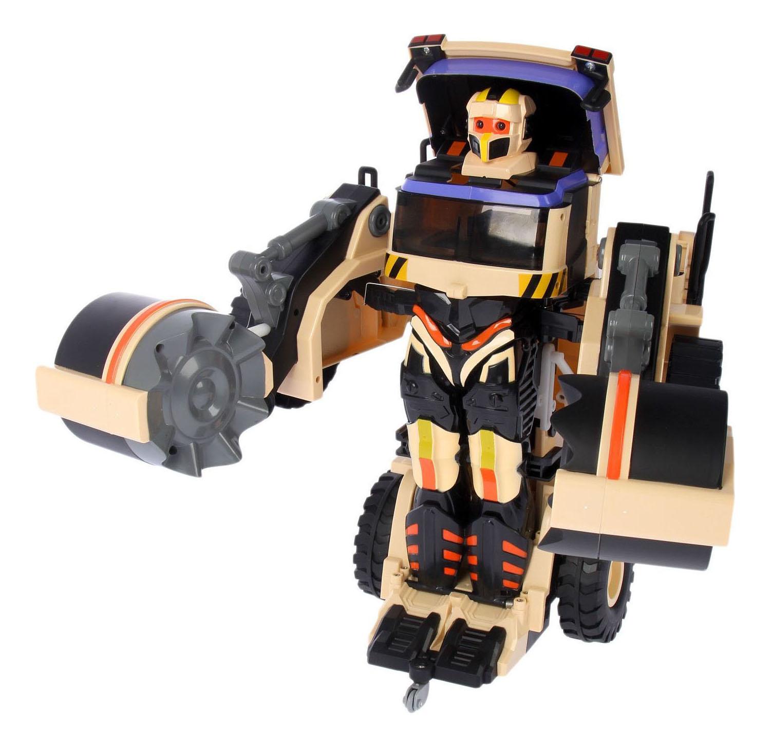Купить Радиоуправляемый робот 1TOY Строительный каток, 1 TOY, Радиоуправляемые роботы