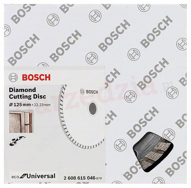 Диск алмазный отрезной Bosch ECO Univ,Turbo 125-22,23 2608615046