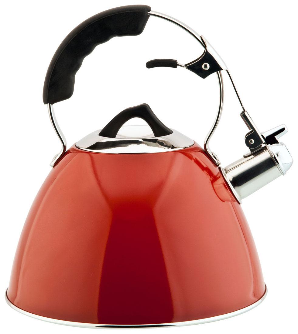 Чайник для плиты Carl Schmidt Sohn Aquatic 3 л цвет Красный