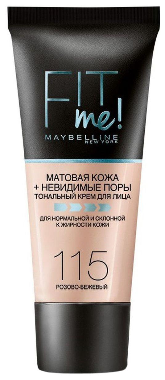 Купить Тональный крем Maybelline Fit Me 115 Розово-бежевый 30 мл, Maybelline New York