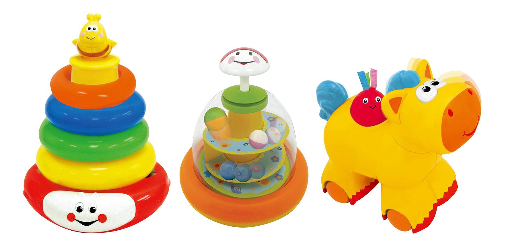 Купить Развивающая игрушка Kiddieland Юла, пирамида, каталка, Развивающие игрушки