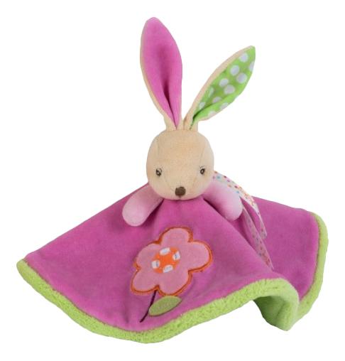 Купить Мягкая игрушка Kaloo Комфортер Заяц Цветочек K963261, Комфортеры для новорожденных