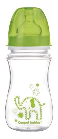Детская бутылочка Canpol babies EasyStart 240 мл зеленый