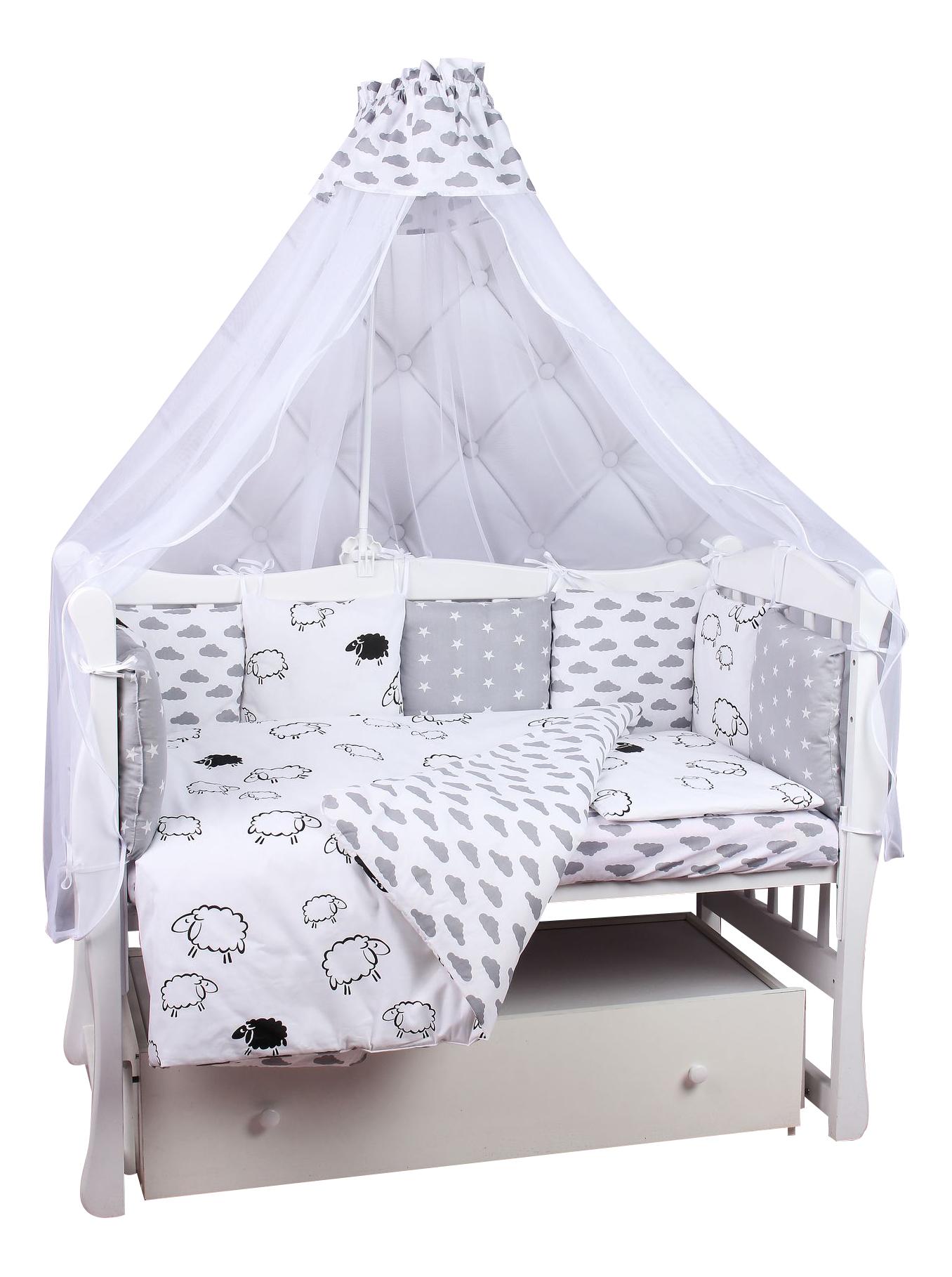 Комплект в кроватку Amarobaby Good night 19 предметов фото
