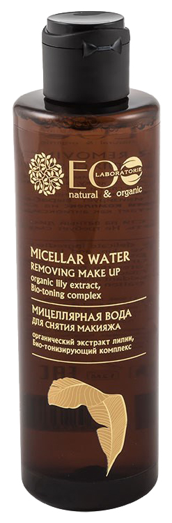 Мицеллярная вода EO Laboratorie для снятия макияжа с лица, глаз, губ 200 мл