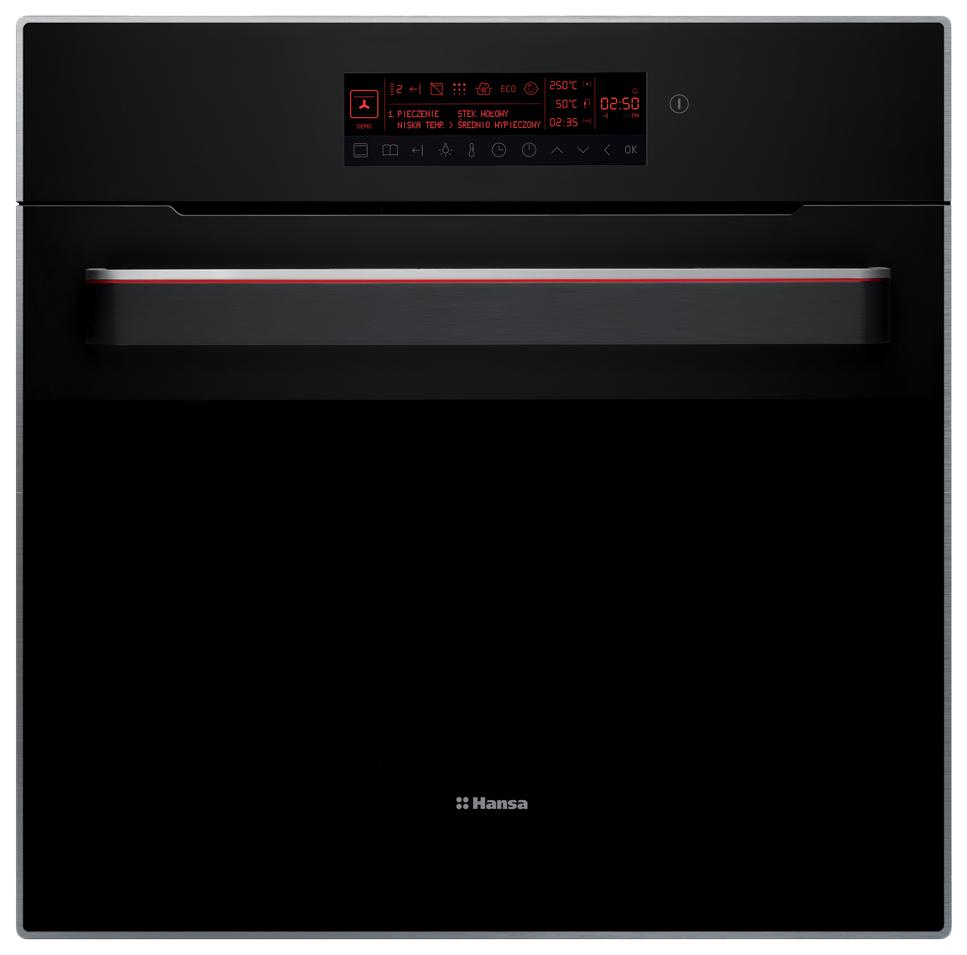 Встраиваемый электрический духовой шкаф Hansa BOES696010 Black