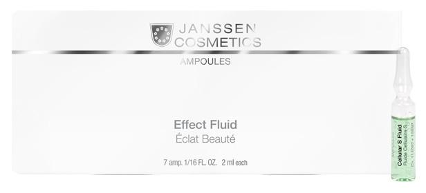 Купить Сыворотка для лица Janssen Ampoules Cellular S Fluid 7x2 мл