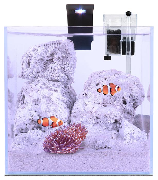 Нано аквариум для рыб, растений, ракообразных Aqualighter