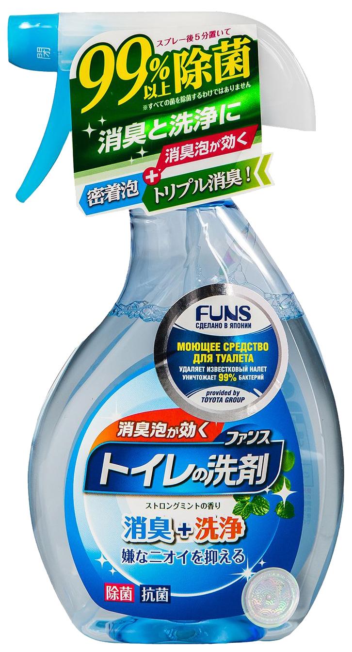 Средство моющее для туалета Funs с ароматом мяты 380 мл