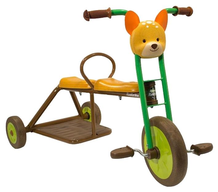 Купить Велосипед трехколесный Олененок Italtrike 9703FOR992307, Детские трехколесные велосипеды