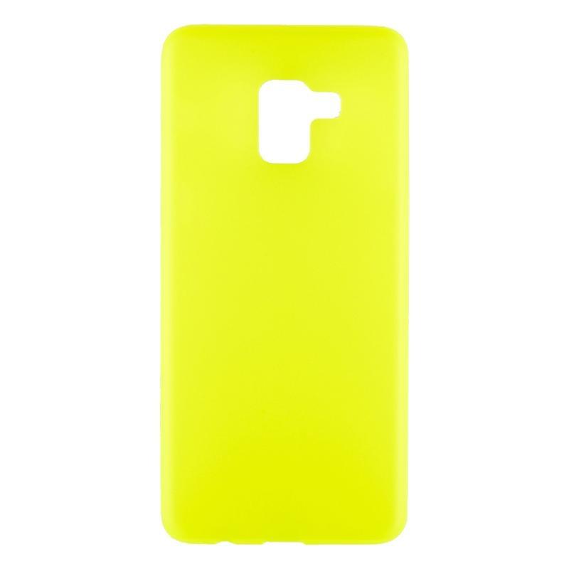 Чехол TFN для Samsung A730 Jelly yellow