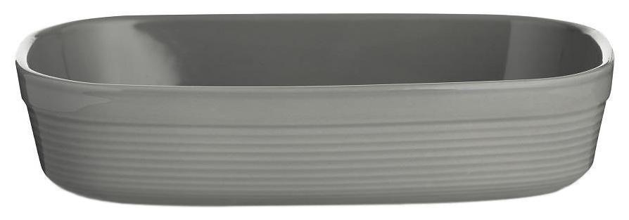 Блюдо для запекания William Mason прямоугольное 28 см серое фото