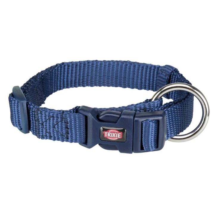 Ошейник для собак TRIXIE Premium, индиго, S–M, 30–45 см, 15мм