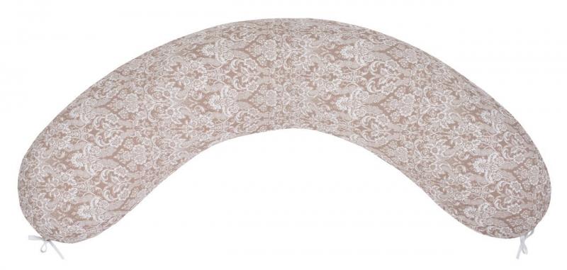 Подушка для беременных AmaroBaby 170х25 (Дамаск кофе)