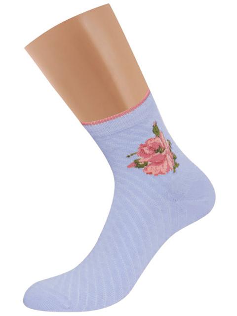 Носки женские Griff голубые 35-38