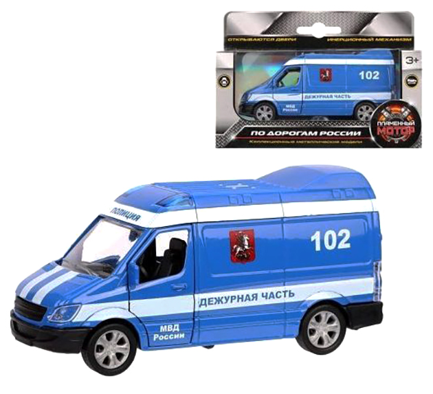 Купить Машина спецслужбы Пламенный мотор Полиция Дежурная часть 870362, Спецслужбы