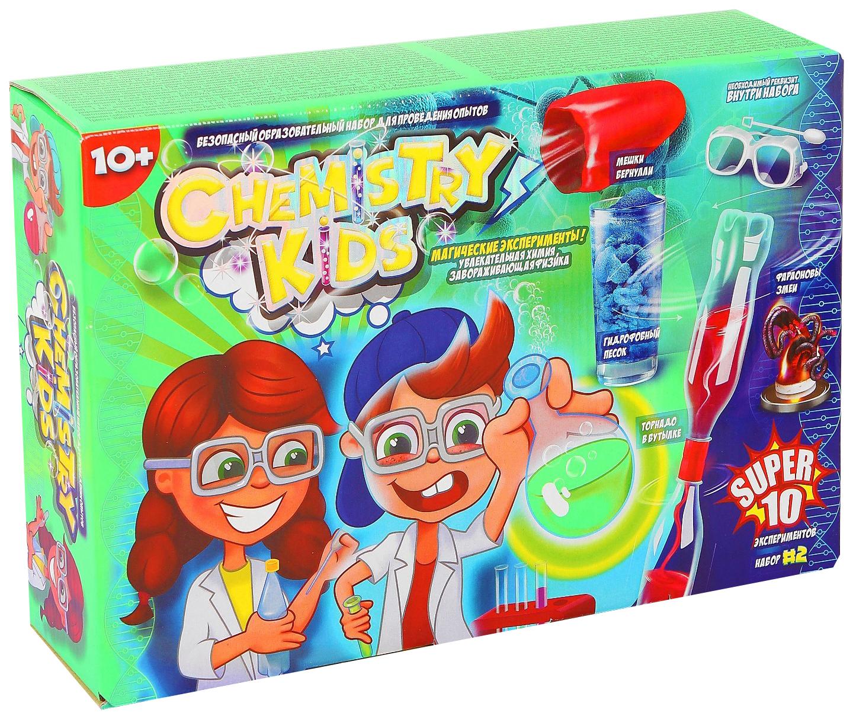 Купить Набор для проведения опытов Магические эксперименты Chemistry Kids CHK-01-02 Danko Toys, Наборы для опытов