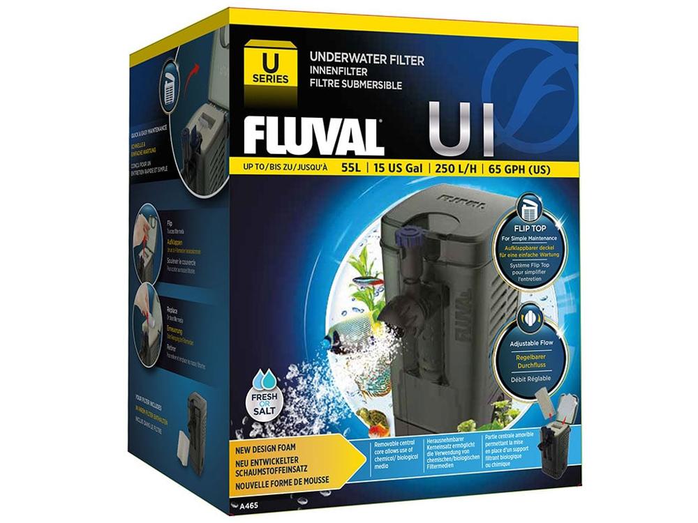 Фильтр для аквариума внутренний Fluval U1, 250 л/ч,