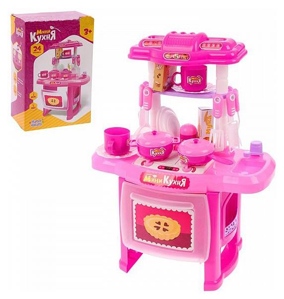 Купить Игровой набор Мини-кухня - Готовим весело (свет, звук), 24 предмета Sima-Land, Детская кухня