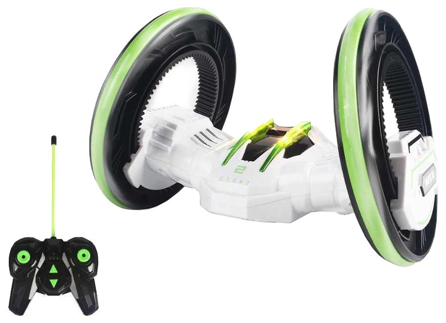 Машинка радиоуправляемая трюковая, 2 колеса, цвет: белый