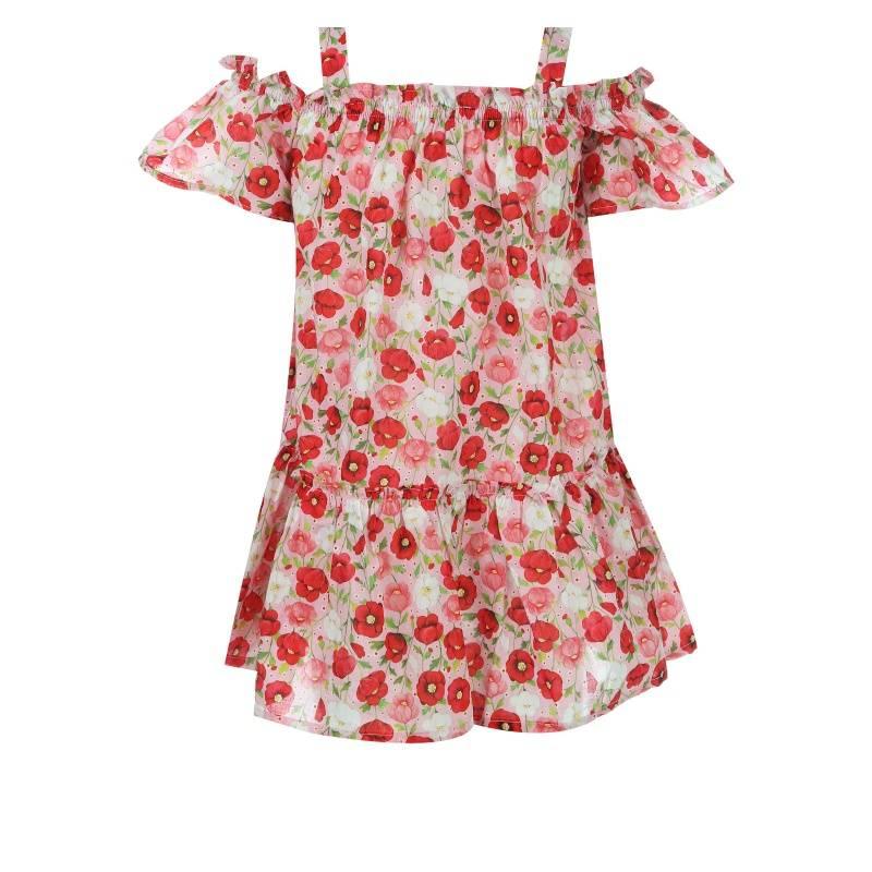 Купить Платье MAYORAL, цв. красный, 104 р-р, Детские платья и сарафаны