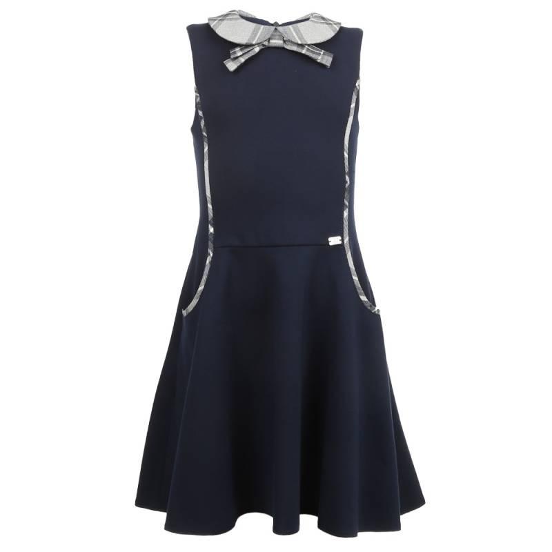 Купить Сарафан SkyLake, цв. темно-синий, 128 р-р, Детские платья и сарафаны