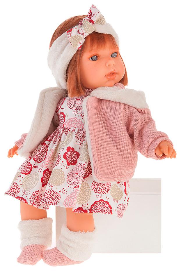 Купить Кукла Валентина , в розовом (37 см), Antonio Juan, Классические куклы