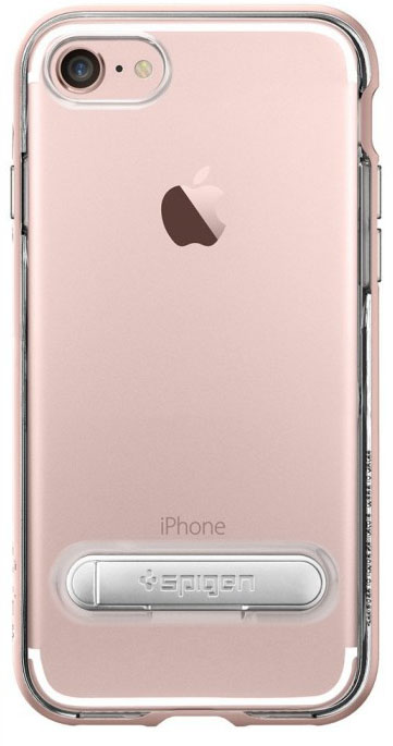 Чехол Spigen Crystal Hybrid для Apple iPhone 7/8 Rose Gold, Hybrid Crystal для iPhone 7/8  - купить со скидкой
