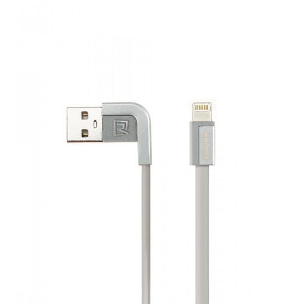 Кабель Remax Cheynn (RC-052i) для iPhone Lightning (1m) silver