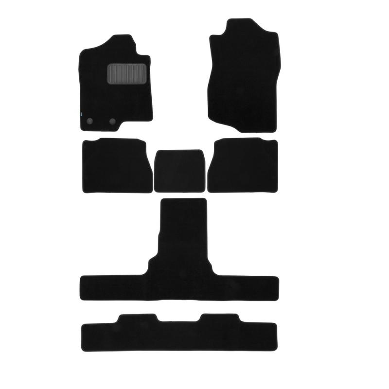 Коврики в салон Klever Premium для CADILLAC Escalade 2007-2014, 6 шт. текстиль, бежевые