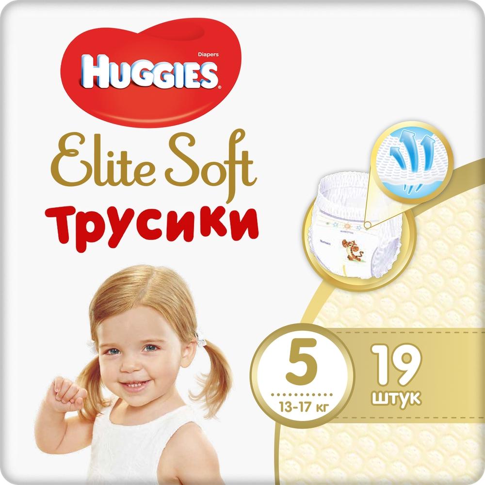 Подгузники Huggies Huggies Elite Soft (12-17 кг), 19 шт.,  - купить со скидкой