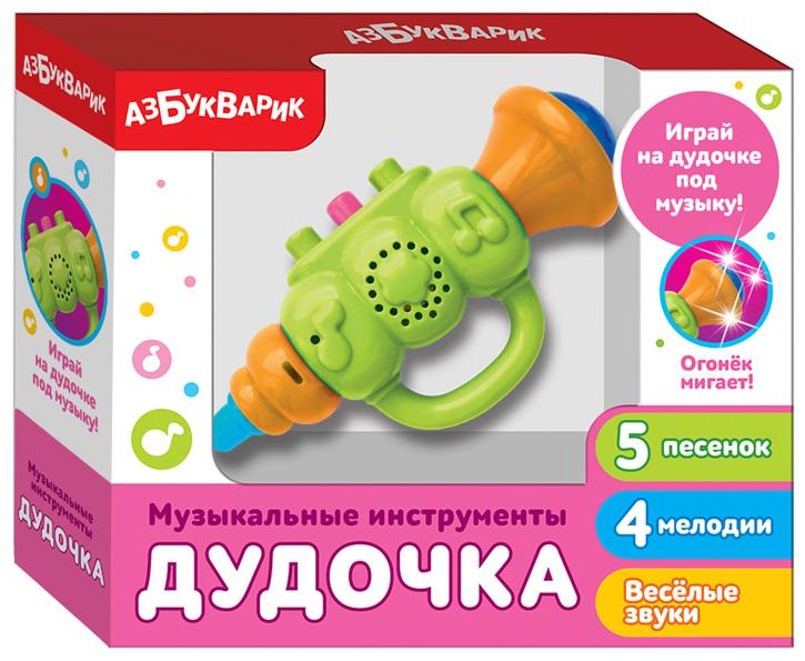 Купить Дудочка Зеленый, Азбукварик, Детские музыкальные инструменты