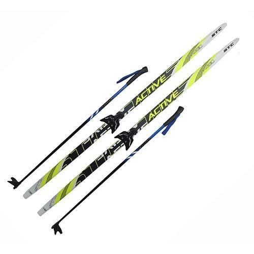 Лыжный комплект 75мм ACTIVE рост 175
