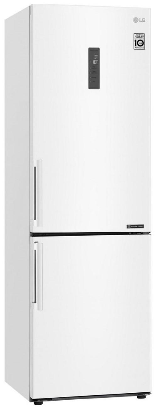 Холодильник LG GA-B 459 BQGL белый фото