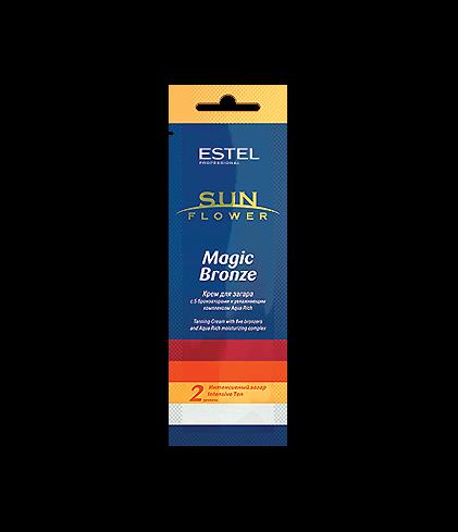 Купить Крем ESTEL Sun Flower Magic Bronze для Загара 2 Уровень, 15 мл