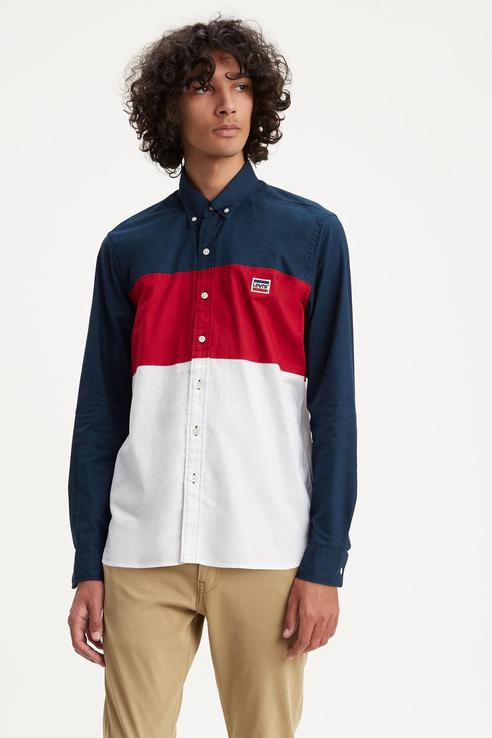 Рубашка мужская Levi's 7262900000 разноцветная L