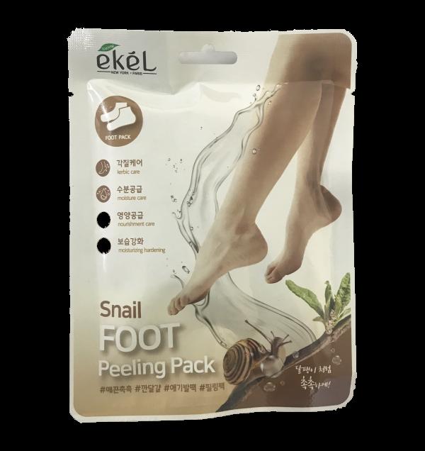 Купить Пилинг-носочки с улиточным муцином Ekel Snail Foot Peeling Pack 40 гр
